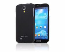 Samsung Galaxy S4 amCase Matte Slim Fit Phone Case/Cover (Black)