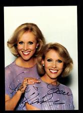 Alice et Ellen KESSLER AUTOGRAPHE CARTE Original Signée # BC 101237