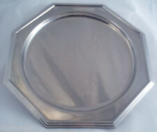 ALITALIA airlines Business Class stainless steel tray vassoio sottopiatto plate