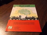 1954 ASSOCIATION OF AMERICAN RAILROADS: RAILROAD BY WORLD BOOK ENCYCLOPEDIA