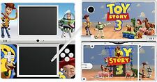 nintendo NDSi DSi original - TOY STORY 3 - 4 Piece Decal Sticker Skin UK