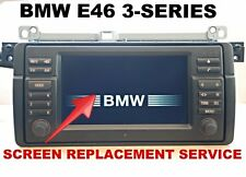 BMW E46 3-SERIES M3 WIDE SCREEN NAVIGATION MONITOR - LCD REPLACEMENT SERVICE