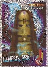 "Doctor Who Alien Armies - ""Genesis Ark"" Glitter Foil Card G3"
