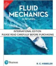 Fluid Mechanics in SI Units by R C Hibbeler