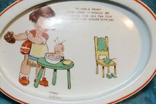Shelley - Mabel Lucy Atwell design - Fairy themed Oval Baby's Plate - 212x148mm