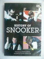 History of Snooker DVD, 2005) Clive Everton, Steve Davis
