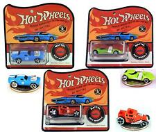 Hot Wheels WORLD'S SMALLEST SET OF 3 BONE SHAKER/RODGER DODGER/TWIN MILL Vers. 1