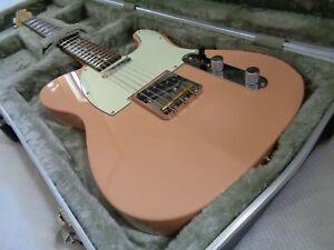 2017 Fender Japan Telecaster Hybrid 60's electric guitar RARE Flamingo Pink