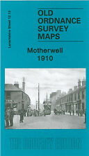 OLD ORDNANCE SURVEY MAP MOTHERWELL 1910