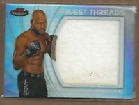 2012 Finest UFC Finest Threads Jumbo Fighter Relics Card #JFTRE Rashad Evans