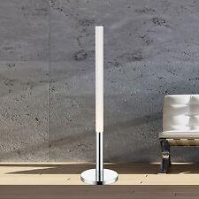 Wofi Led Lámpara de Pie Atkins Cromado 100cm Interruptor Cilindro 14 Vatios 1020