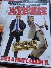 Wedding Crashers DVD Owen Wilson Vence Vaunghn