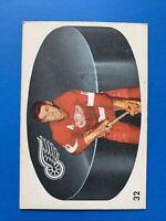 Alex Delvecchio 1962-63 Parkhurst Hockey Card #32 Detroit Red Wings