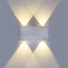 up down Effekt 4W Led Wandlampe Wandleuchte Warmweiß 2700K Flurlampe 85-230V DHL