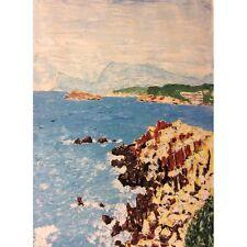 Iles de Marseille et calanque provence peinture XXème siècle France