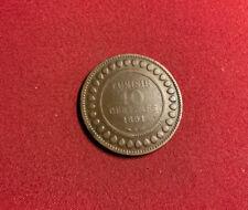 Tunesien 10 Centimes 1891