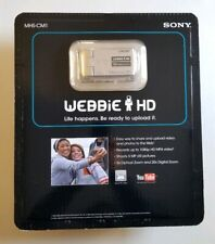 Sold Out Sony Webbie HD Silver Camcorder MHS-CM1 New