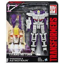 Transformers Generazioni Titans ritorno DARKMOON e TRIPLEX VOYAGER Titans