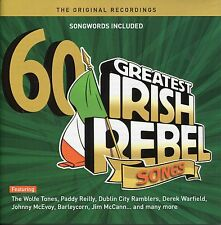 60 Greatest Ever Irish Rebel Songs 3CD Boxset plus 1 free CD