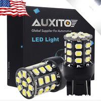 2X Back-Up Reverse Light 7440 7443 T20 Super White LED Bulbs for Mazda 3 Sport