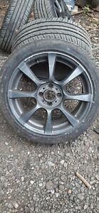 "4x Fiat 500 abarth 16"" alloy wheels4x98"