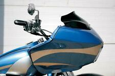 "Klock Werks 8"" Black Flare Windshield Harley Road Glide FLTR 1998-2013"