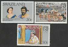 Swaziland 1977 Queen Elizabeth II Silver Jubilee set.  All Superb Mint.