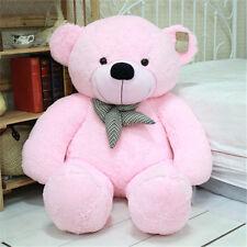 80cm/31'' New Big Stuffed Plush Teddy Bear Soft Doll Toy-Pink-kids Xsmas Gift