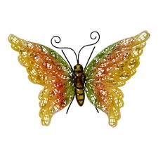 Wanddekoration Schmetterling, Metallfigur, Wanddeko, Metalldeko, Wandschmuck