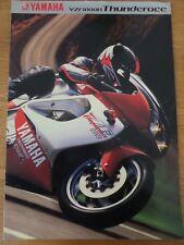 Yamaha YZF1000R Thunderace Motorcycle Sales Brochure 2001