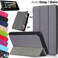 CASE For Amazon Fire HD 10 8 7 2020 Leather Flip Stand Slim Book Smart Cover