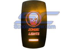 UTV Skull Zombie Lights Rocker Switch 2015 Led On Off Toggle Square Dune Sand