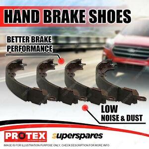 Protex Handbrake Shoes Set for Holden Crewman Cross 6 8 VZ SS 5.7L V8 04-on