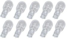 10 Pack 12V 7W T5 Wedge Base Low Voltage Bulbs 12XT5-12V-7W- NEW