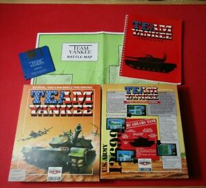 Team Yankee Simulation Commodore Amiga Game Boxed Complete