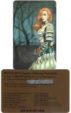 Dawn - Autographed Phone card # 3 [limited and numbered to 500]