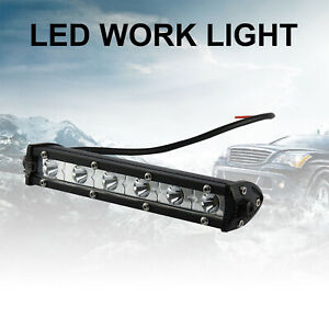18W 6000K LED Work Light Bar Driving Lamp For Off-Road UTV SUV Car Boat Truck