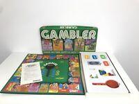 GAMBLER Vintage Board Game Palitoy Parker Brothers 1977 Rare