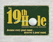 the 19th hole golf metal tin sign decor furniture