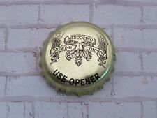 Beer Bottle Crown Cap ~*~ Mendocino Brewing Co ~ Hopland, California Breweriana
