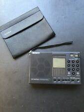 SONY ICF-SW7600 World-Band Receiver. Original Box, Radio & Accessories Pre-Owned