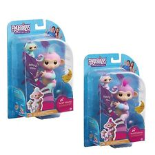 Wow Wee Fingerlings Monkey BFF Sets •Violet & Hope• And •Ashley & Chance•