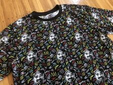 RARE Licensed Poetic Justice 2pac All-Over Print men's t-shirt sz L tupac shakur