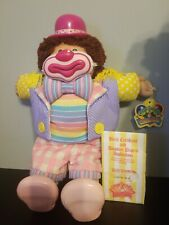 Vintage 1985 Cabbage Patch Circus Kids CUDDLY CRINKLES Clown Boy tongue LANCE