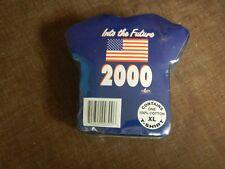 Vintage 1999 Into The Future 2000 Navy color T Shirt (XL), NOS
