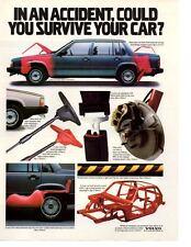 1986 VOLVO 740 ~ ORIGINAL PRINT AD