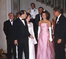 John F. Kennedy & Jackie Kennedy photo - L4023 - White House, May 11, 1962