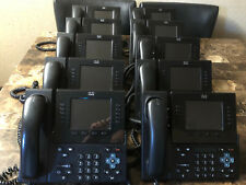 Lot of 10 Cisco CP-8961-C-K9 Unified IP Phone w/Stand and Handset