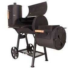 Taino Massiver Smoker BBQ Holzkohle Grillwagen - 3.5mm Stahl