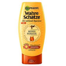 (20,35€/L) 200ml Garnier Wahre Schätze Spülung Honigschätze strapaziertes Haar
